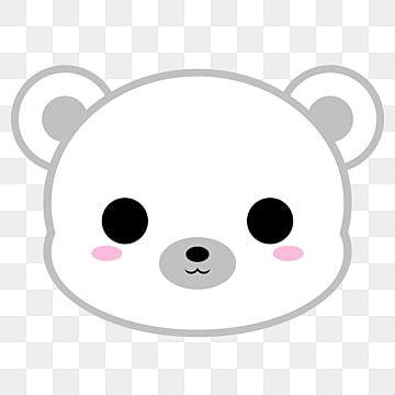 Cute Polar Bear Head Cute Icons Head Icons Bear Icons Png Transparent Clipart Image And Psd File For Free Download Polar Bear Illustration Polar Bear Cartoon Cute Polar Bear