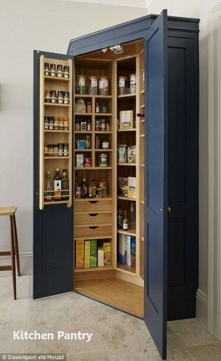 15 Formidably Functional Diy Tips For Your Kitchen S Pantry 3 In 2020 Pantry Design Diy Kitchen Storage Kitchen Renovation