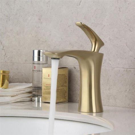 Hauteur 115 mm Pour 30/% Economie D/'eau Lavabo avec Durable Corps de Cuivre Design wolketon Robinet lavabo Chaude et Froide R/églable de Mitigeur Lavabo