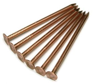 11 Gauge Solid Copper Roofing Nails With Smooth Shanks With Images Roofing Nails Copper Roof Nails And Screws