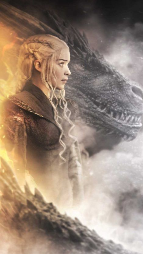 Daenerys And Dragon Iphone Wallpaper Game Of Throne Daenerys Daenerys Targaryen Wallpaper Targaryen Art Game of thrones wallpaper daenerys