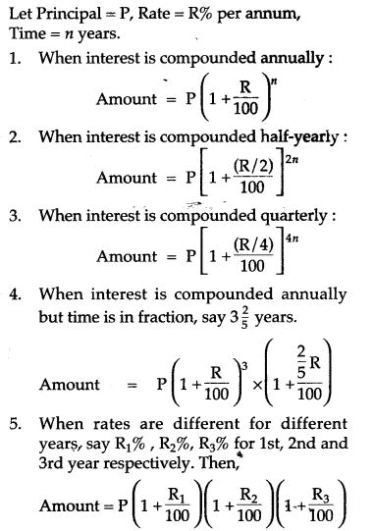 Compound Interest Rs Aggarwal Class 8 Maths Solutions Ex 11a Maths Solutions Studying Math Math Methods