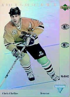 Chris Chelios Hockey Card Hockey Cards Cards Chris Chelios