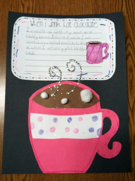 1/12/12 Cute bulletin board and short writing activity...procedural/how-to writing? A Cupcake for the Teacher: Search results for hot chocolate