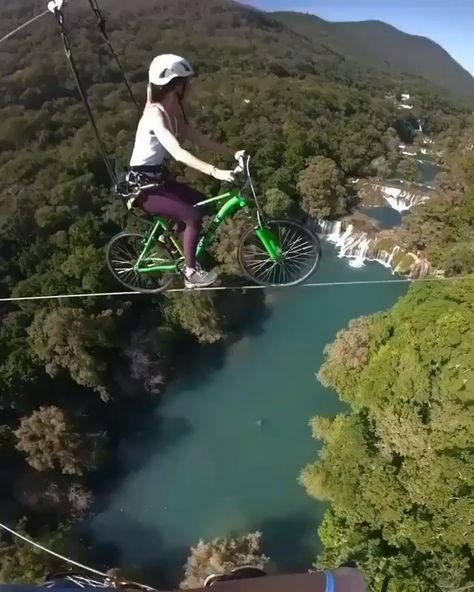 Bycicle ride into the void