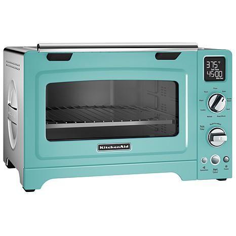 Kitchenaid Digital Toaster Oven 12 Coblt 8721953 Hsn In 2020 Countertop Oven Toaster Oven Countertop Convection Oven