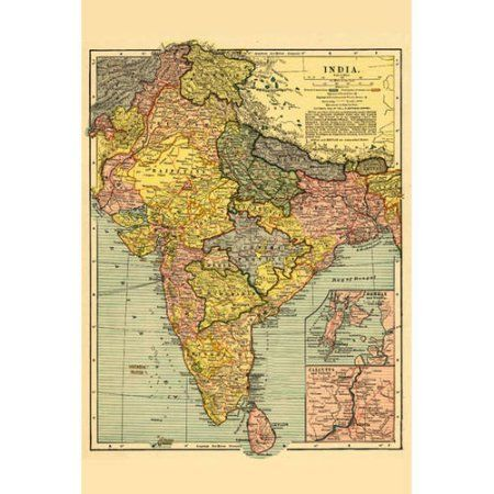 India panoramic map poster multicolor products pinterest zion india panoramic map poster multicolor products pinterest zion canyon walmart and products gumiabroncs Images