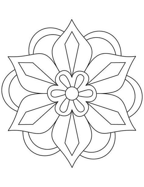 Mandala Coloring Pages For Kids Coloring Pages Education - copy make your own coloring pages online