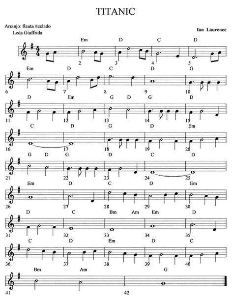Spartito flauto scarica