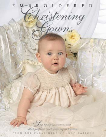 Embroidered Christening Gowns.