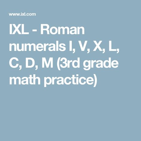 This Helpful Worksheet Will Introduce Your Child To Roman Numerals