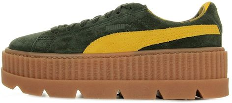 new concept 880f4 72f22 SHOES PUMA x FENTY BY RIHANNA CLEATED CREEPER SUEDE WOMENS  Amazon.co.uk   Shoes   Bags