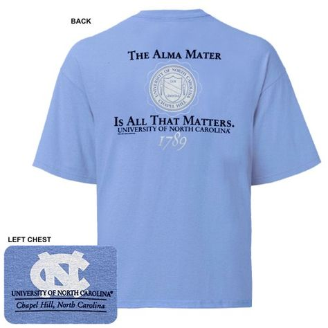 20a474a0c3a Pin by Johnny T-Shirt on UNC Alumni Merchandise | Tar heels, Unc ...