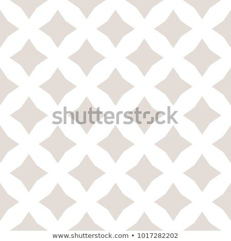 Subtle Vector Seamless Pattern With Diamond Shapes Stars