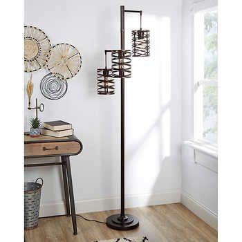 Brady 3 Arm Floor Lamp In 2020 Arm Floor Lamp Floor Lamp Design Floor Lamp