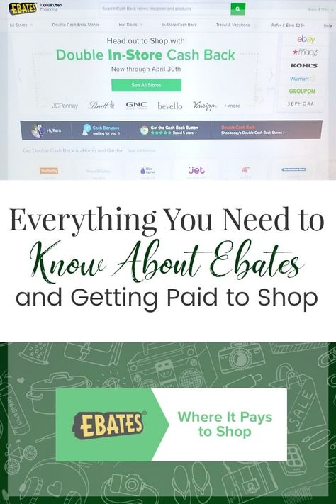 In This Ebates Review You Ll Learn Everything You Need To Know To