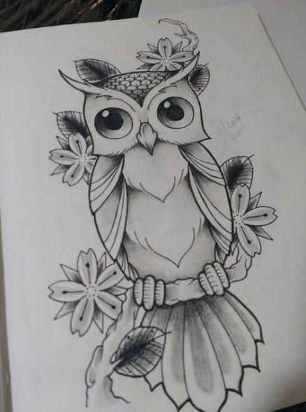 48+ ideas bird drawing pencil owl