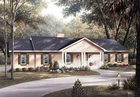 """""""An empty house is like a stray dog or a body from which life has departed.""""  For Traditional house plans,"""