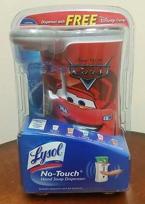 New Lysol No Touch Hand Soap Dispenser And Free Disney Pixar Cars