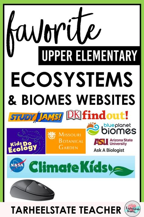 Ecosystems Websites for Kids