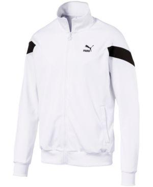 black and white puma track jacket