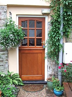 Garden Cottage front door