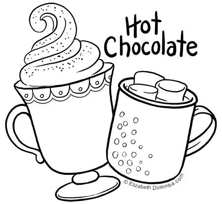 Hot Chocolate Hot Chocolate Drawing Hot Chocolate Hot Chocolate Clipart