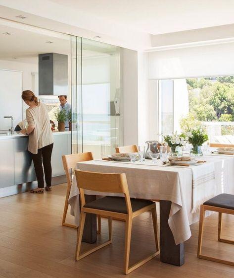 Une Terrasse Avec Vue Mer Pour Un Appartement Renove Planete Deco