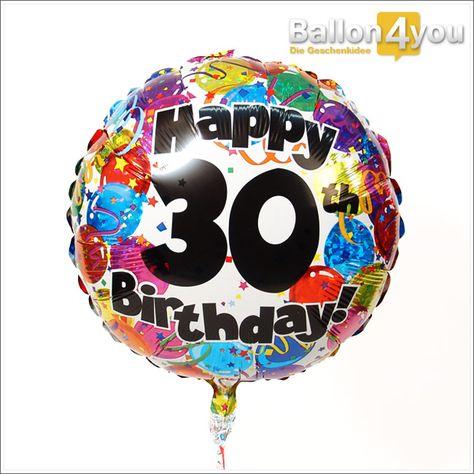 Geschenk Zum 30 Alles Gute Zum 30 Geburtstag Bunt Alles Gute Zum