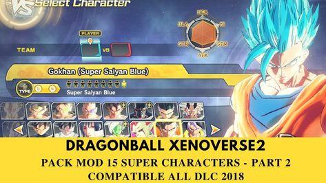 Ghim Trên Mod Dragonball Xenoverse 2