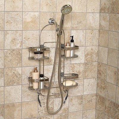 Bath Shelf Expandable Soap Shampoo