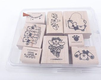 Set of 5 Assorted Color Rubber Stamp Carving Blocks for DIY own stamps 5x5x1 cm