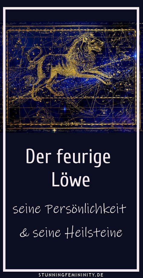 Der feurige Löwe - seine Persönlichkeit und Heilsteine | Horoskop ...