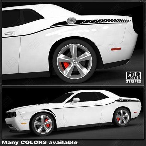 Dodge Challenger 2008-2018 Arrow Side Accent Stripes