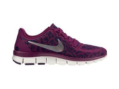 Nike Free 5.0 V4 Women's Shoe Raspberry Cheetah Print   Best