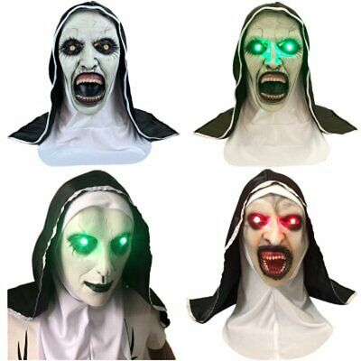 The Conjuring 2 SCARY NUN MASK Latex Fancy Dress Prank Horror Halloween Party