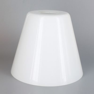 Lamp Parts Lighting Parts Chandelier Parts White Glass Cone