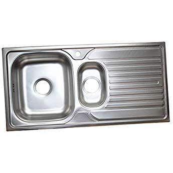 Küchenspüle Edelstahl Einbauspüle Spülbecken Küche Edelstahlspüle