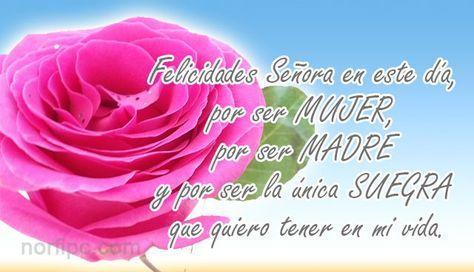 Mensajes Para Mi Suegra De Felicitacion Y Elogio Con Imagenes