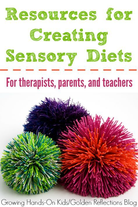 Resources for Creating Sensory Diets | Growing Hands-On Kids