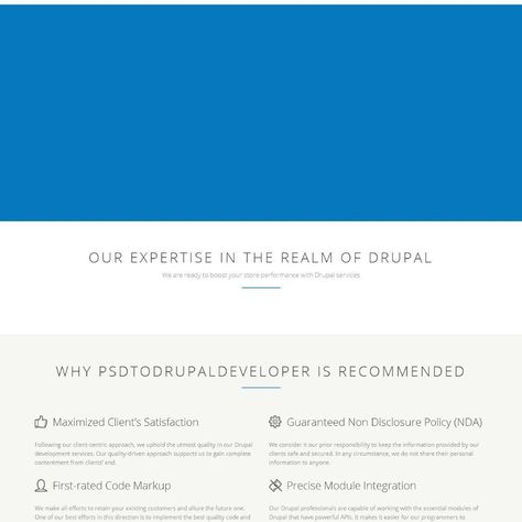 Drupal Support & Maintenance Service: Reasons To Opt For