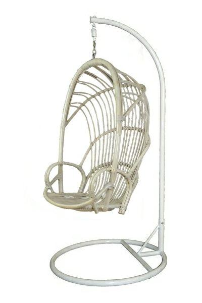 Hangstoel Vintage Wit.Hangstoel Set Wit Vintage Standaard Wit Hangstoel Witte