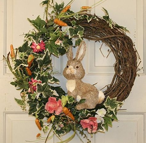 Country Rabbit Spring Door Wreath SF http://www.amazon.com/dp/B00TXRQO10/ref=cm_sw_r_pi_dp_bIr7ub0F35RTC