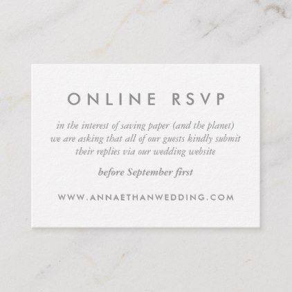 Modern Rose Gold Rings Wedding Online Rsvp Card Zazzle Com Rsvp Wedding Cards Wording Rsvp Wedding Cards Wedding Card Wordings