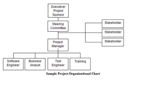 Sample Project Organizational Chart Download for Project - project organization chart