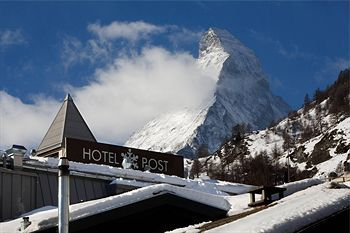 Unwind and take in the views from this warm and friendly boutique hotel in Zermatt - Unique Hotel Post