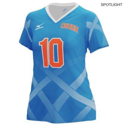 Mizuno Women S 440348 Custom Sublimated Short Sleeve Jersey Volleyball Jerseys Women Volleyball Volleyball Uniforms