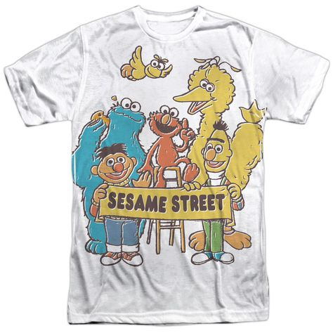 Sesame Street Block Party Adult Tank Top