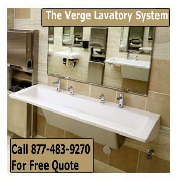 Commercial Restroom Lavatory Systems On