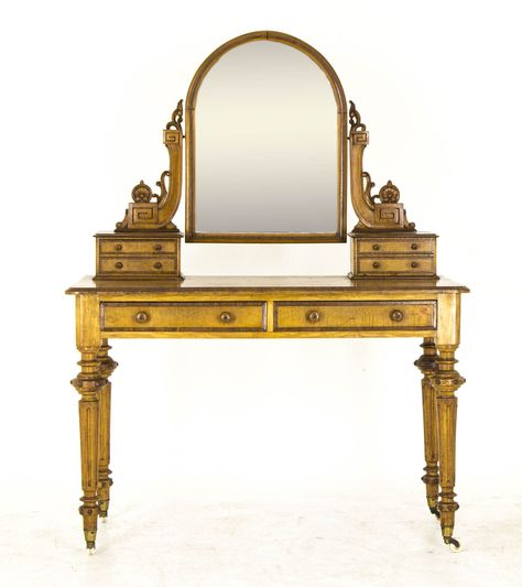 Victorian Walnut Duchess Dresser  - ELLEDecor.com